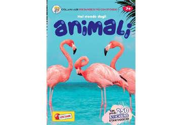 Immagine di Albi per sapere di più - Nel mondo degli animali con stickers