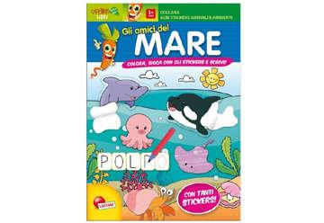 Immagine di Albi stickers animali e ambienti - Gli amici del mare