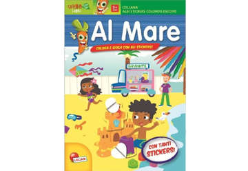 Immagine di Albi stickers coloro e decoro - Al mare