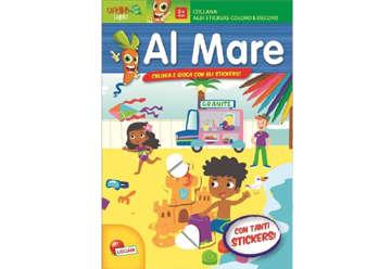 Immagine di Albi stickers coloro e decoro - Al mare