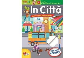 Immagine di Albi stickers coloro e decoro - In città con stickers