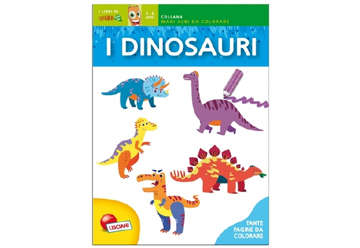 Immagine di Maxi albi di carotina - Dinosauri colorati