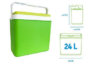Immagine di Borsa frigo rigida verde24L