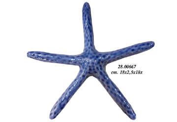 Immagine di Ceramica Stella marina 18x18x2.5cm