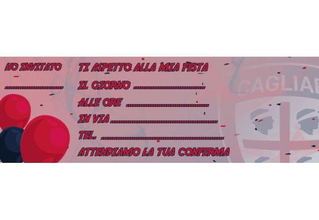 Immagine di Blocco Carnet invito feste da 20 fogli Cagliari 1920