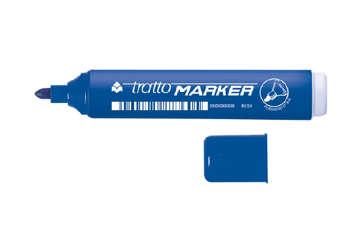 Immagine di Fila tratto marker punta tonda blu