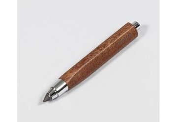 Immagine di Mat4 penna sfera triangolare in legno ciliegio essenza cedro