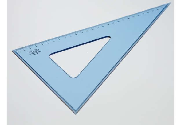 Immagine di Squadra 60° cm 22 perspex