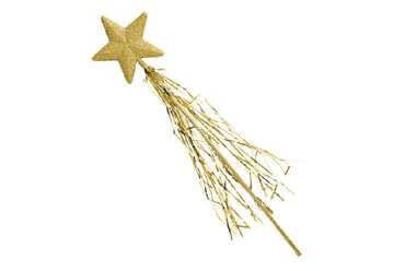 Immagine di Bacchetta magica glitter oro