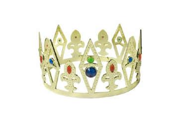 Immagine di Corona Re e Regina con gemme