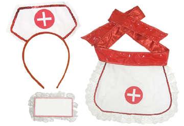 Immagine di Set infermiera 3pz
