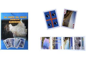 Immagine di Mazzo carte Sardegna 54pz