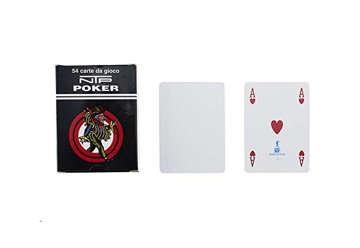 Immagine di Poker bianco ntp pvc