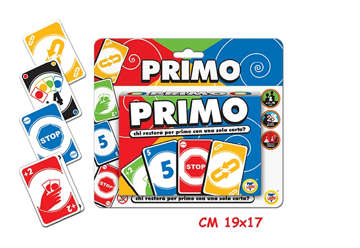 "Immagine di Carte da gioco ""Primo""  2 mazzi da 56pz"