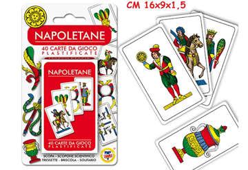 Immagine di Carte da gioco Napoletane mazzo da 40pz