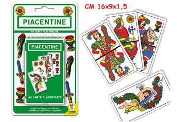 Immagine di Carte da gioco Piacentine mazzo da 40pz
