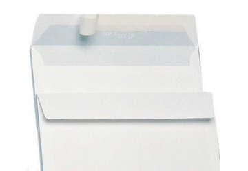 Immagine di Busta unimail strip bianca 11x23cm 500pz