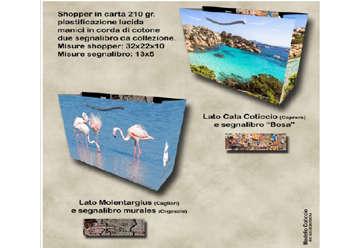 Immagine di Shopper Cala Coticcio/Molentargius 32x22cm