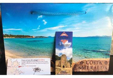 Immagine di Shopper Costa Smeralda/Porto Cervo32x22cm