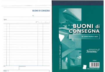 Immagine di Blocco Consegne 50/50 fogli autoricalcanti f.to 148x228