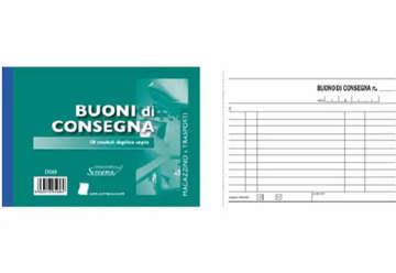 Immagine di Blocco Consegne 50/50 fogli autoricalcanti f.to 170x99