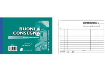 Immagine di Blocco Consegne 50/50 fogli autoricalcanti f.to 176/120