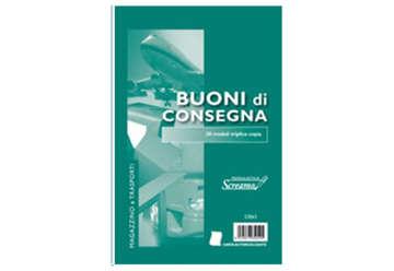 Immagine di Blocco Consegne 50/50/50 fogli autoricalcanti f.to 148x228