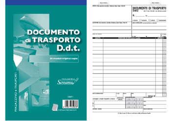 Immagine di Blocco Documento di Trasporto 50/50/50 fogli autocopianti f.to148x228