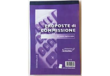 Immagine di Blocco Proposte Commissioni 50/50 fogli autoricalcanti f.to 148x228