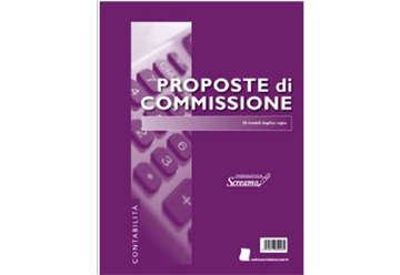 Immagine di Blocco Proposte Commissioni 50/50 fogli autoricalcanti f.to 228x297