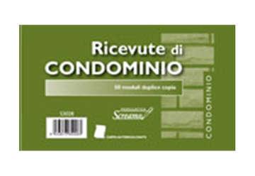 Immagine di Blocco Ricevute Condominio 50/50 fogli autricalcanti f.to 170x99