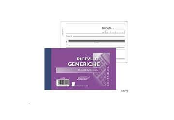 Immagine di Blocco Ricevute Generiche 50/50 fogli autoricalcanti f.to 170x99