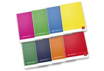 Immagine di Quaderno A4 Pigna colours 1 rigo con margine0C