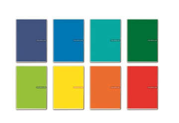 Immagine di Quaderno A4 Colorclub 1 rigo 1R