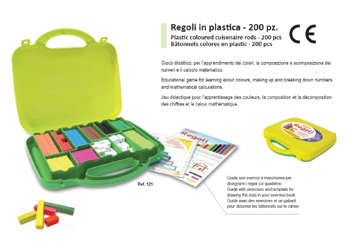 Immagine di Regoli in valigetta 200pz