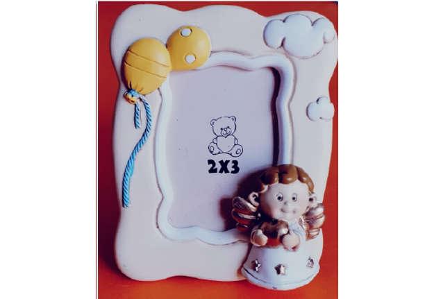 Immagine di Portafoto con angelo resina