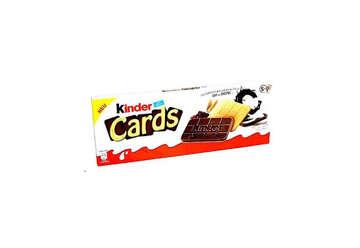 Immagine di Kinder Cards (2x5) box 30pz da 25,6gr