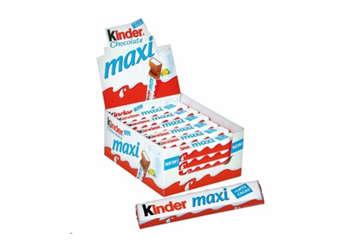 Immagine di Kinder Maxi 21gr in display da 36pz