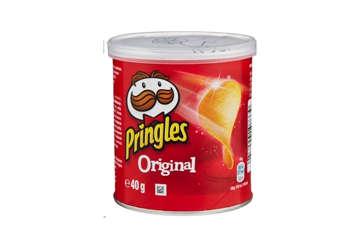 Immagine di Pringles original rosse barattolo 40gr (Conf. 12pz)