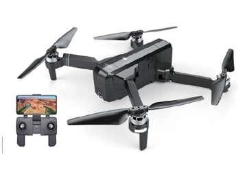 Immagine di DRONE GPS RETURN HOME CON FOTO VIDEO HD (PIU' BORSA A TRACOLLA PORTATILE IN TESSUTO)