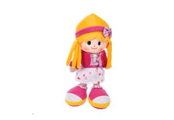 Immagine di Bambola di pezza capelli gialli 50cm