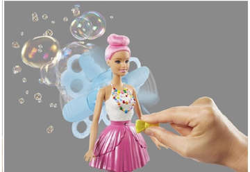 Immagine di BARBIE DREAMTOPIA BUBBLETASTIC FAIRY DOL