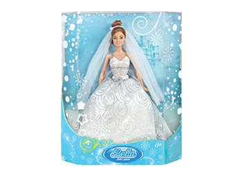 Immagine di BAMBOLA SNODABILE SPOSA H35CM IN BOX