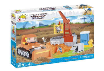 Immagine di 1674 Cobi action town - Cantiere 500pz