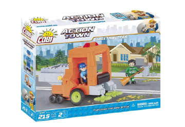Immagine di 1784 Cobi action town - Street sweeper 215pz