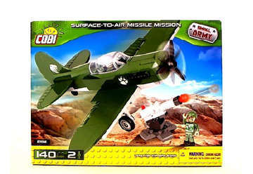 Immagine di 2162 COBI SURFACE-TO-AIR MISSILE SMALL ARMY 140PZ