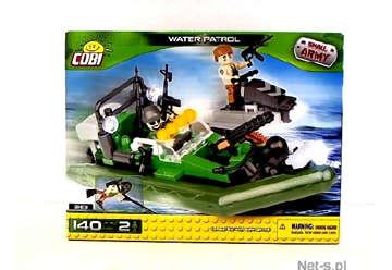 Immagine di 2163 Cobi Water patrol small army 140pz