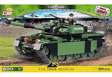 Immagine di 2494 COBI CHIEFTAIN MAIN BATTLE HISTORICAL COLL.  620PZ