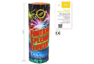 Immagine di Fontana Splendid Flower 21,5cm