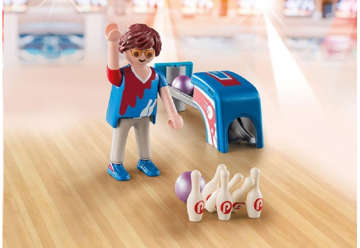 Immagine di Giocatore di Bowling